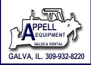 Appell Equipment Sales Logo