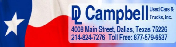 DL Campbell Used Cars & Trucks Logo