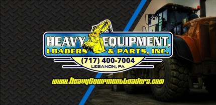 Heavy Equipment Loaders & Parts Logo