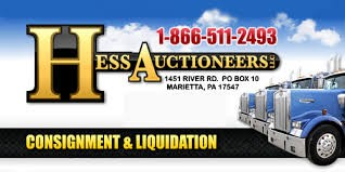 Hess Auctioneers Logo