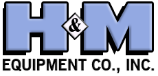 H&M Equipment Logo