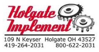 Holgate Implement Sales Logo