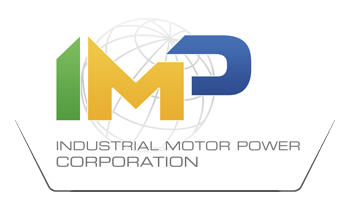 Industrial Motor Power Logo