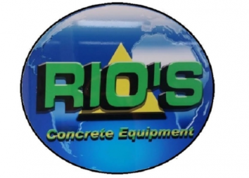 Rios Concrete Equipment Logo