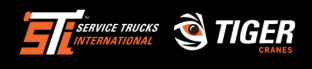 Service Trucks International & Tiger Cranes Logo