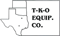 TKO Equipment Logo