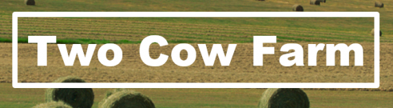 Two Cow Farm Equipment Logo