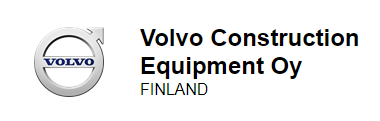 Volvo Construction Equipment Finland Logo
