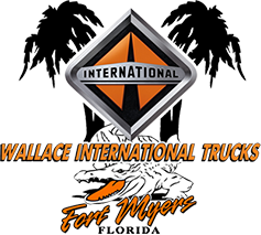 Wallace International Trucks Logo